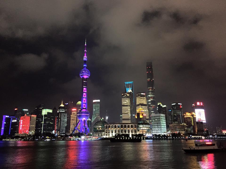中国へ。上海・義烏