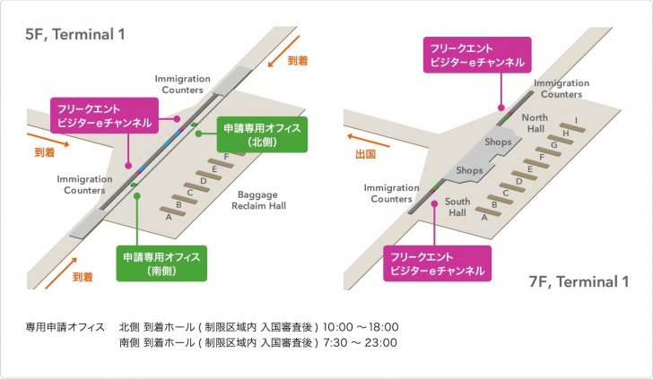 【eチャンネル】香港の自動化ゲート。ANAプラチナで優先レーンの申請手続き