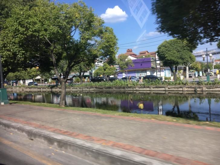 ソンテウからのチェンマイの風景