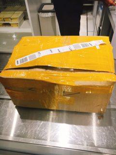 成田空港税関で輸入品の税務申告の手続きしてみました。